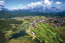 aerial view on Seefeld