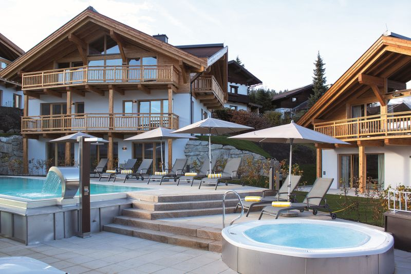 Mountains chalets in seefeld tyrol austria - Chalet de luxe megeve ...